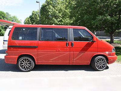 Little Rose VW Vanagon